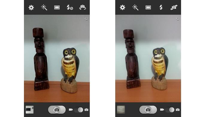 Apesar de tornar a câmera do Galaxy S3 mais poderosa, a atualização do Android não acrescentou novos recursos (Foto:Reprodução/Daniel Ribeiro)