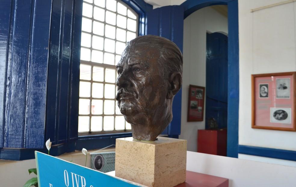 Vital Brazil é lembrado até hoje pelas suas pesquisas na Medicina (Foto: Bruno de Oliveira/G1 Sul de Minas)