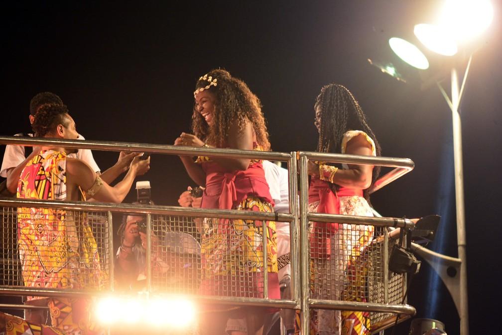 Pedido de casamento no Ilê (Foto: Renato Lima/Ag Haack )