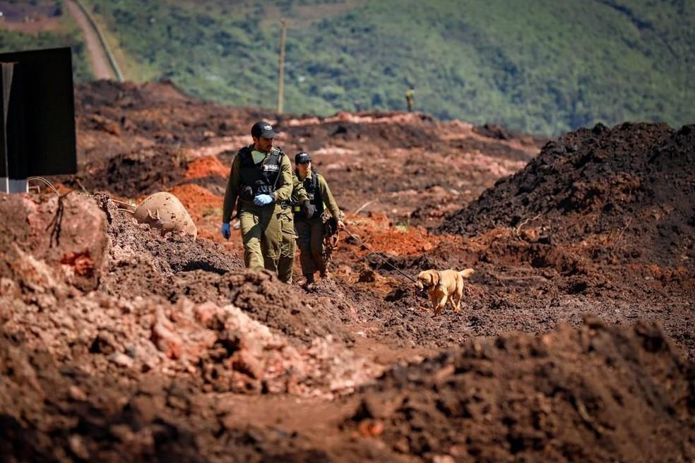 Militares israelenses ajudaram nas buscas às vítimas da tragédia em Brumadinho — Foto: Raphael Singer