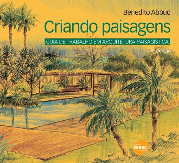 Livro Criando Paisagens, de Benedito Abbud (Foto: Amazon/Reprodução)