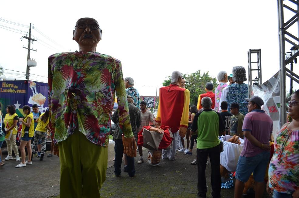 Banda do Vai Quem Quer em Porto Velho - Carnaval 2018 (Foto: Toni Francis/G1)