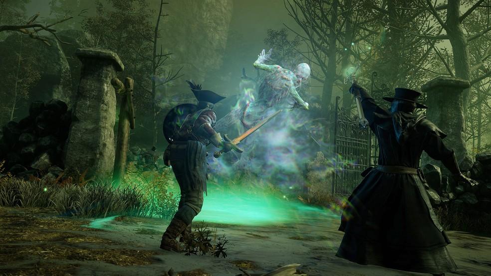 O jogador enfrentará diversos tipos de monstros em New World — Foto: Divulgação/Amazon Studios