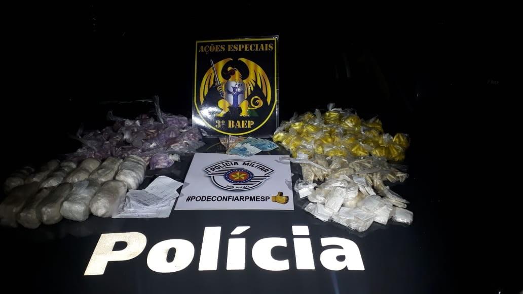 Jovem é preso com cocaína e crack em Caraguatatuba, SP - Noticias