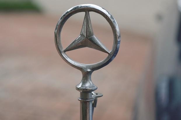 Logotipo da Mercedes-Benz  (Foto: André Schaun/Autoesporte )