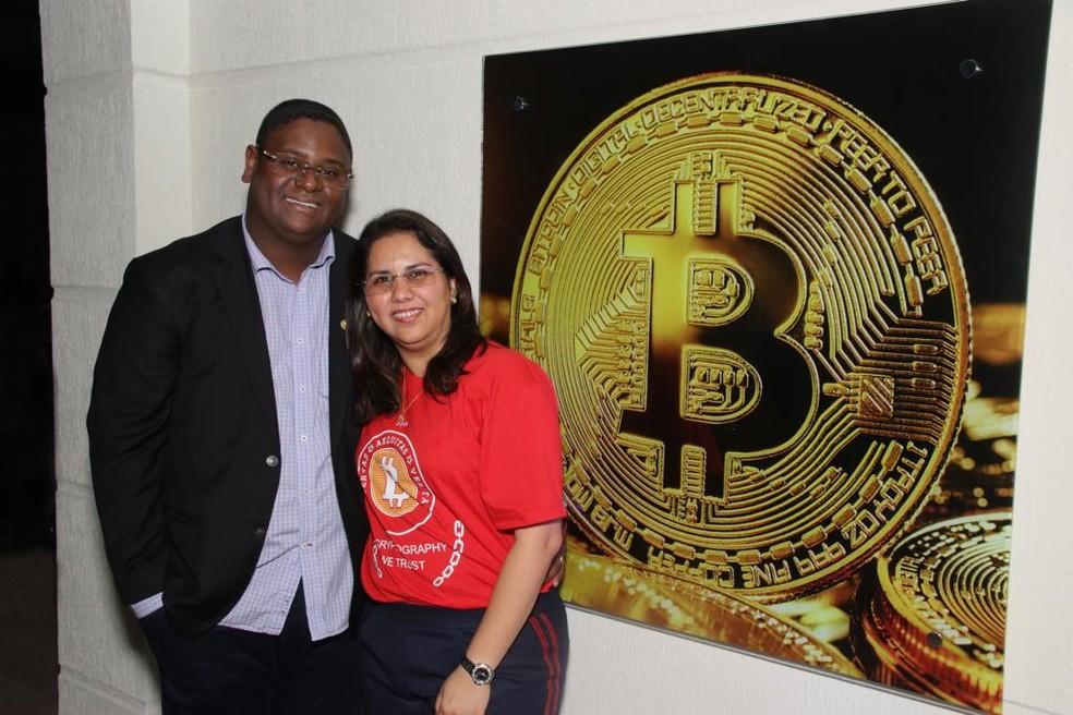 Glaidson Santos e Mirelis Zerpa investigados pela PF por sonegação fiscal e fraude ao sistema financeiro  — Foto: Reprodução