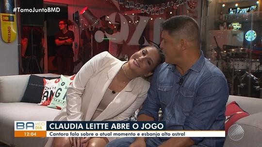 Claudia Leitte fala sobre os novos planos na música e a espera da filha Bela
