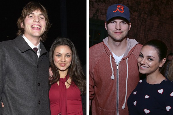 Ashton Kutcher e Mila Kunis (Foto: Getty Images)
