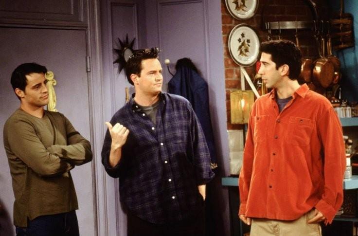 O ator Matthew Perry em cena de Friends (Foto: Reprodução)