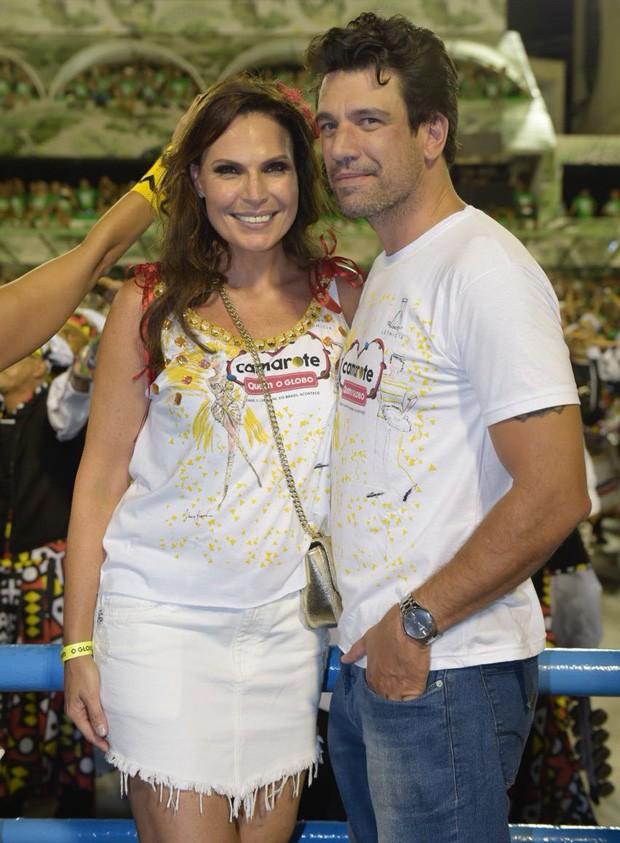 Laura Muller e Ricardo Ferreira (Foto: Selmy Yassuda/ Ed Globo)