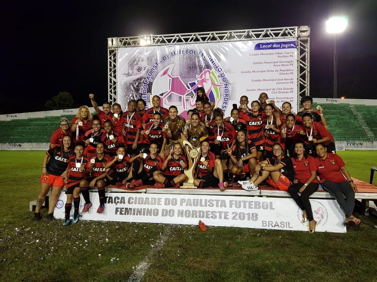 Sport faz jus ao favoritismo e é campeão da Taça Paulista de Futebol  Feminino  c95f3010cac37