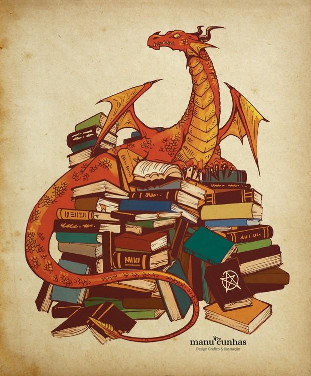Ilustração por Manu Cunhas (Foto: Manu Cunhas/ Reprodução)
