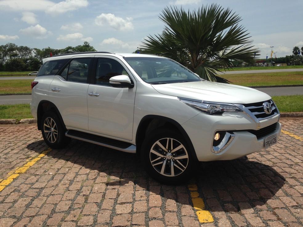 Toyota SW4 (Foto: André Paixão/G1)