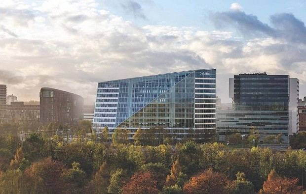 Prédio da construtora holandesa EDGE Technologies, com mais de 30 mil sensores - prédio inteligente - construtech (Foto: Reprodução/Instagram)