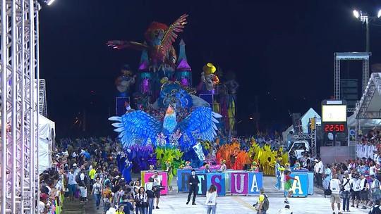 Assista na íntegra os desfiles das escolas de samba de Porto Alegre