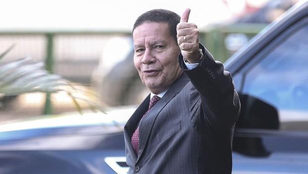 Vice-presidente general Hamilton Mourão (Foto: José Cruz/Agência Brasil)