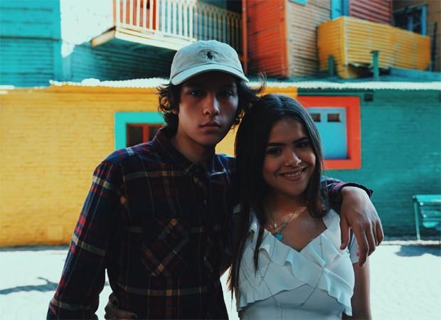 Nicholas Arashiro e Maisa Silva (Foto: Reprodução/Twitter)