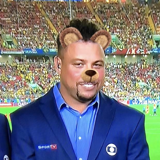 Ronaldo vira coelhinho em montagem nas redes (Foto: reprodução)