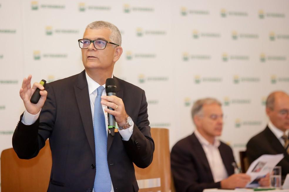 O diretor financeiro da Petrobras, Ivan Monteiro, em imagem de março deste ano (Foto: Francisco de Souza / Agência Petrobras)