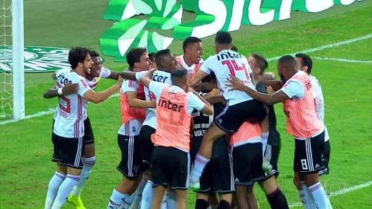 Gols do Fantástico: São Paulo elimina nos pênaltis o Palmeiras e vai à final do Paulista