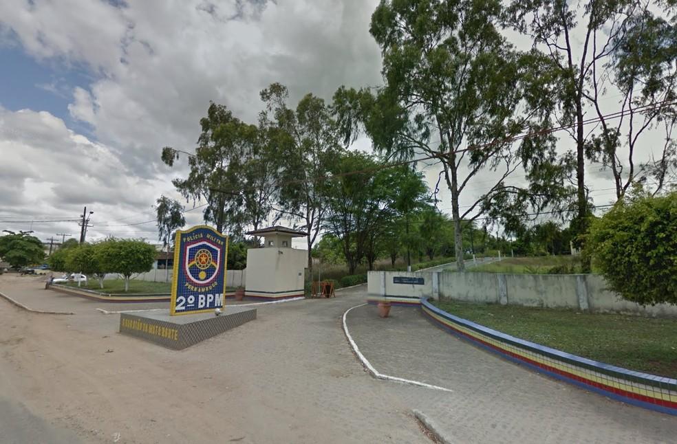 Ocorrência foi registrada pelo 2º Batalhão de Polícia Militar, em Nazaré da Mata (Foto: Reprodução/Google Street View)