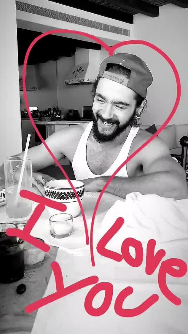 Heidi Klum e Tom Kaulitz (Foto: Instagram)