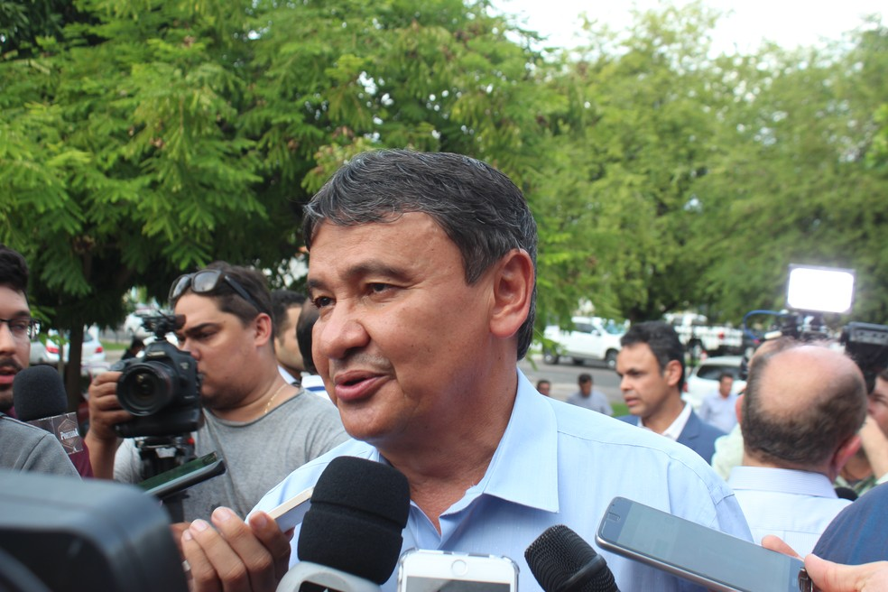 Governador do Piauí Wellington Dias (PT) (Foto: Lucas Marreiros / G1)