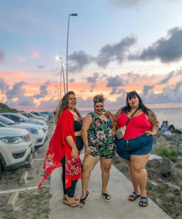Naiana Ribeiro, Aila Menezes e Thais Carla (Foto: Reprodução / Instagram)