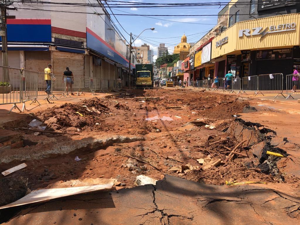 Prefeitura de São Carlos inicia obras de recuperação dos estragos causados pela chuva
