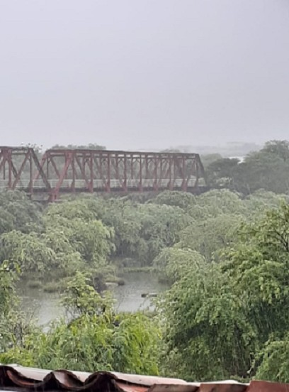 Ceará tem chuvas de até 107 milímetros entre sábado e domingo
