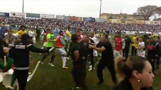 STJD multa Operário-PR e Cuiabá por briga em final da Série C; jogador tem pena reduzida
