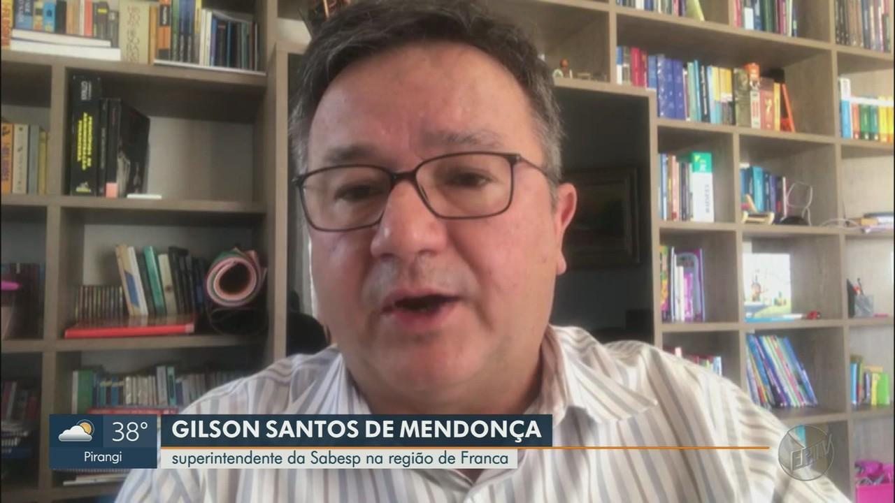 Sabesp alerta consumidores na região de Franca, SP, para economia de água