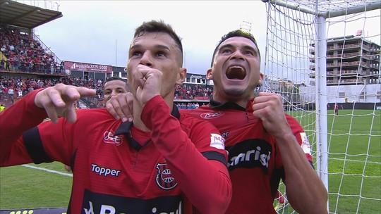 Confira o gol da vitória do Brasil de Pelotas sobre o Figueirense