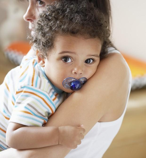 Com que idade seu filho deixou a chupeta?  (Foto: Thinkstock Photo)