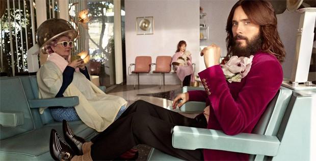 Lana Del Rey e Jared Leto para a Gucci (Foto: Divulgação / Fashionista)