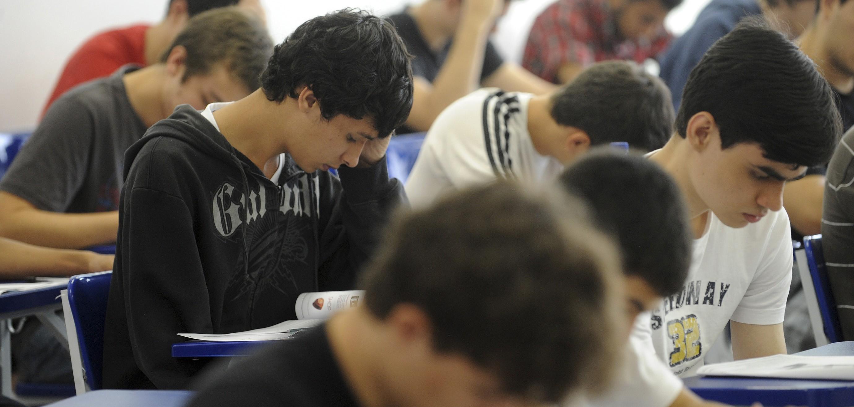O ENEM ocorrerá nos dias 5 e 12 de novembro (Foto: Agência Brasil)