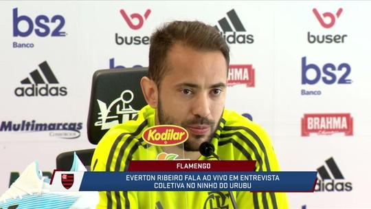 Everton Ribeiro fala sobre possibilidade de Balotelli fechar com o Flamengo
