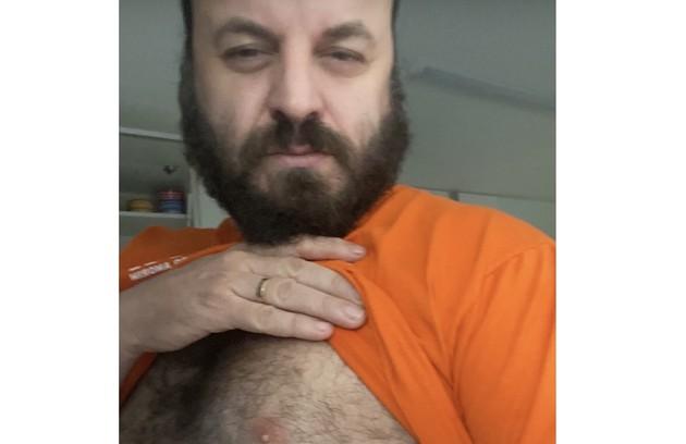 O comediante Paulinho Serra postou (Foto: Reprodução)