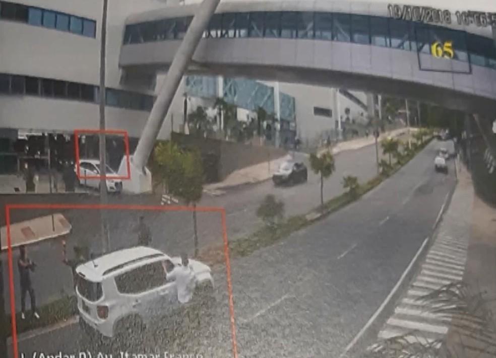 Policiais civis se envolveram em tiroteio em hospital em Juiz de Fora  — Foto: G1/G1