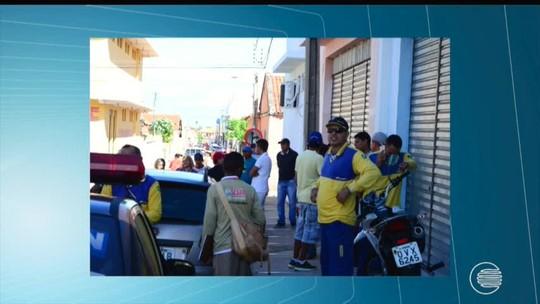 Bandidos fortemente armados invadem agência e roubam carga dos Correios