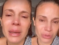 Maíra Charken chora ao falar de dificuldades financeiras; vídeos