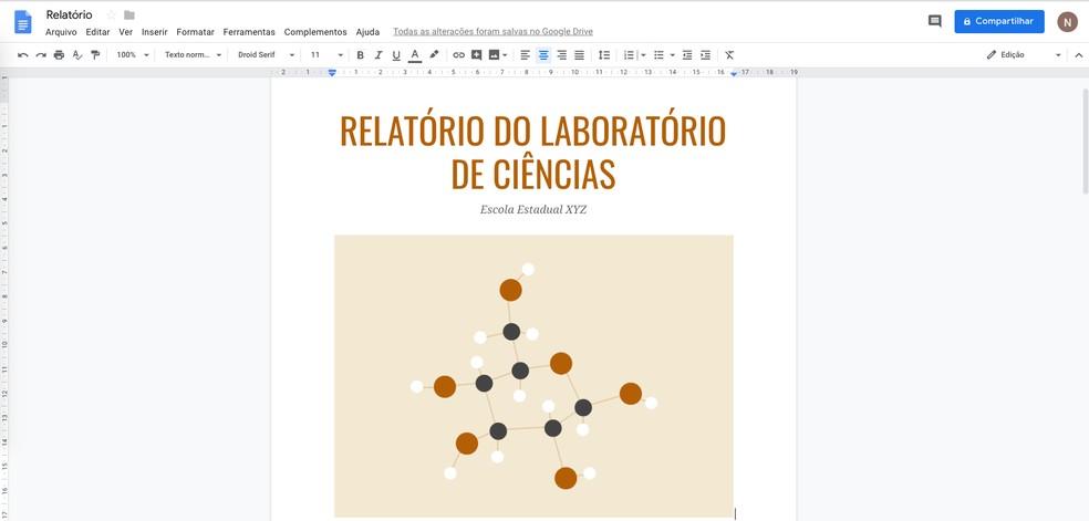 Como Fazer Capa De Trabalho Escolar No Google Docs