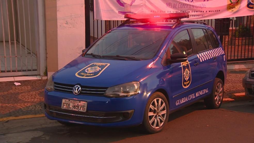 Guarda Municipal de Capivari — Foto: Reprodução/EPTV