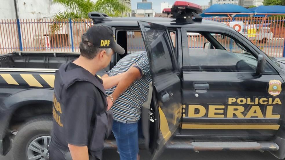 São cumpridos 60 mandados de prisão  (Foto: Luiz Souza/NSC TV)