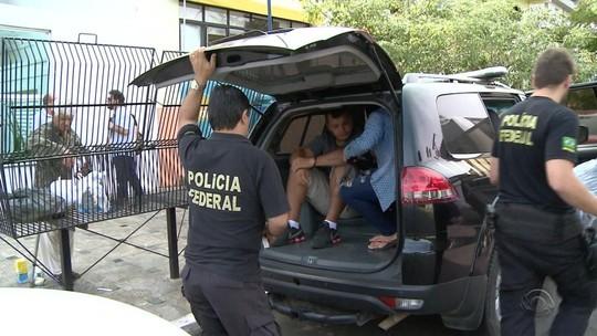 Operação da Polícia Federal prende quadrilha responsável por tráfico de armas e drogas na fronteira do RS