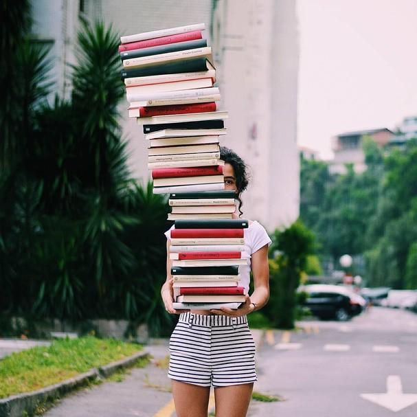 Livros (Foto: Reprodução Instagram)