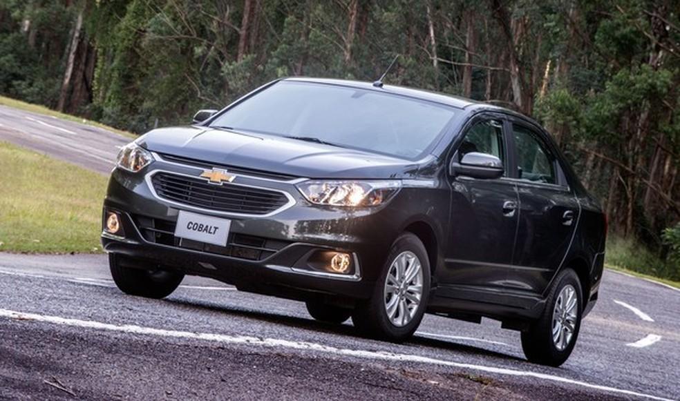 Chevrolet Cobalt 2017 — Foto: Divulgação