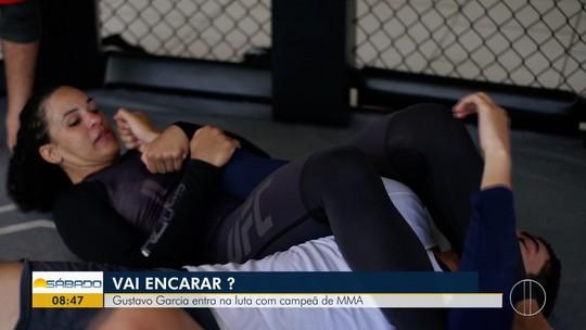 """""""Vai Encarar?"""" vive um dia da rotina de treinamentos da lutadora do UFC, Talita Bernardo"""