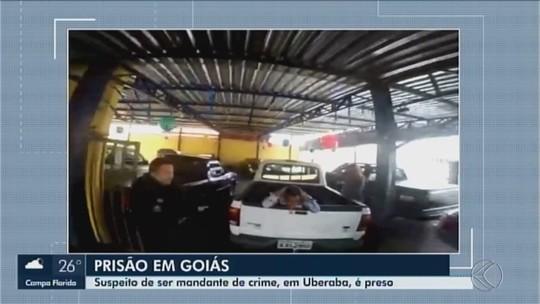 Suspeito de encomendar crime em Uberaba é preso no interior de Goiás
