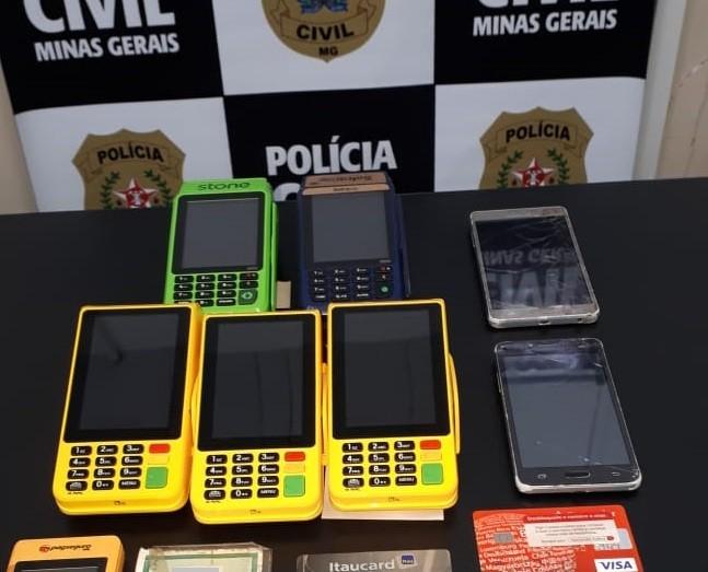 Suspeito de aplicar 'golpe do motoboy' é preso em flagrante na Grande BH; polícia diz que prejuízo às vítimas chega a R$18 mil reais